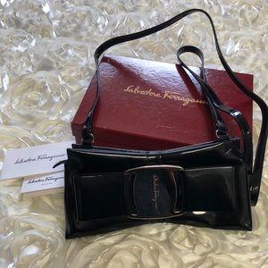 Salvatore Ferragamo Iconic Clutch Bag/crossbody
